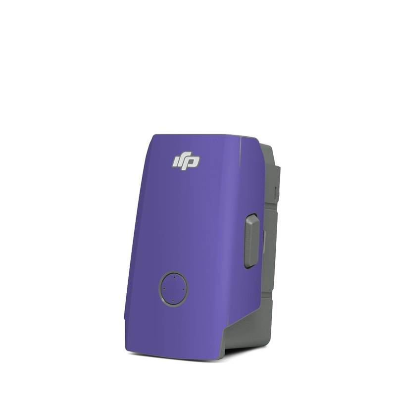 DJI Mavic Air 2 Battery Skin design of Blue, Violet, Sky, Purple, Daytime, Black, Lilac, Cobalt blue, Pink, Azure with purple colors