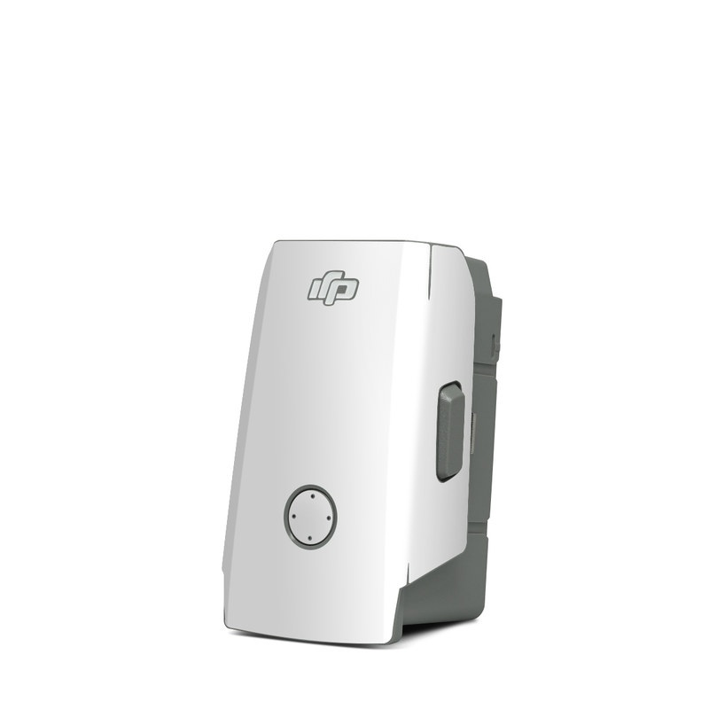 DJI Mavic Air 2 Battery Skin design of White, Black, Line with white colors