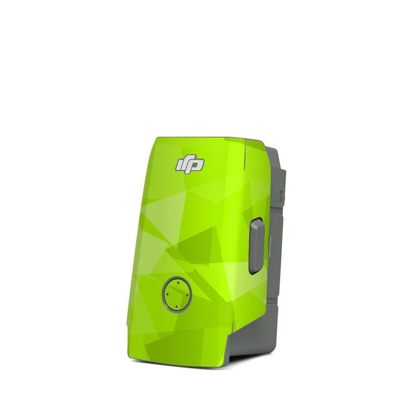DJI Mavic Air 2 Battery Skin design with green colors