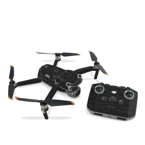Black Woodgrain DJI Air 2S Skin