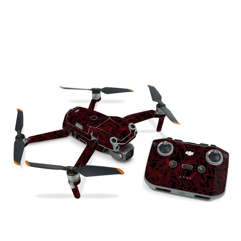 DJI Air 2S Skin design of Pink, Art, Motif, Magenta, Font, Pattern, Symmetry, Rectangle, Circle, Electric blue with black, red colors