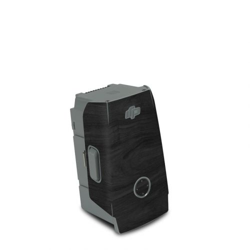 Black Woodgrain DJI Air 2S Battery Skin