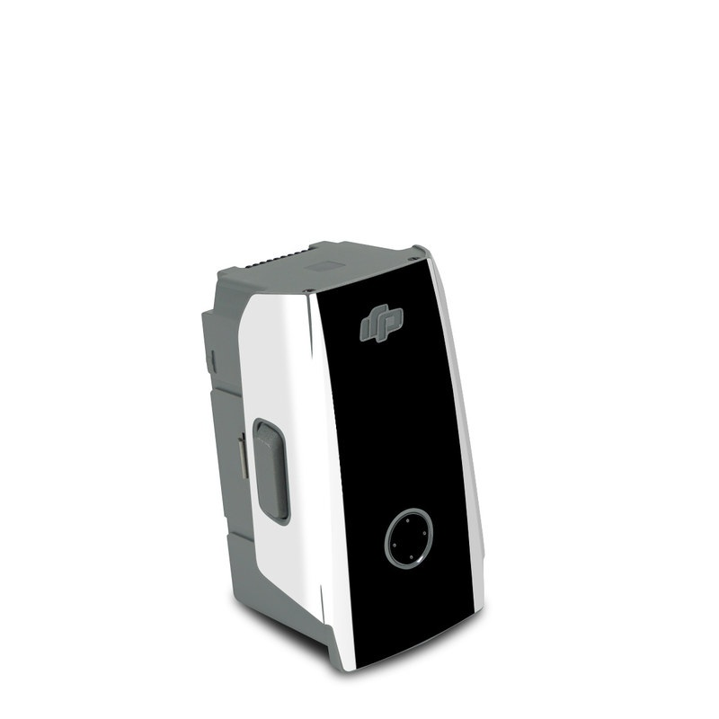 DJI Air 2S Battery Skin design with white, black, red colors