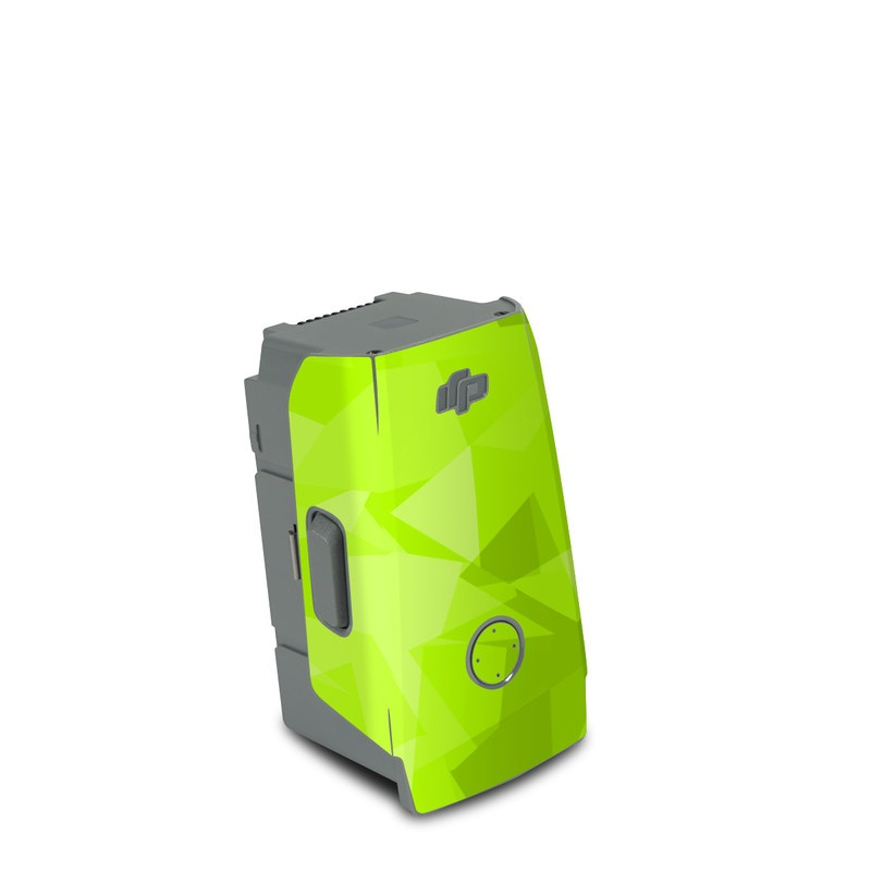 DJI Air 2S Battery Skin design with green colors