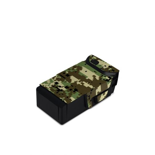 Digital Woodland Camo DJI Mavic Air Battery Skin