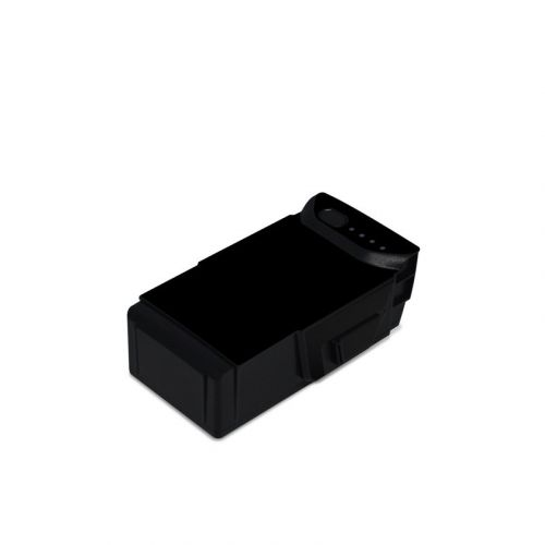 Solid State Black DJI Mavic Air Battery Skin