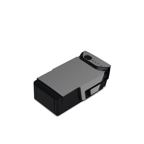 Solid State Grey DJI Mavic Air Battery Skin