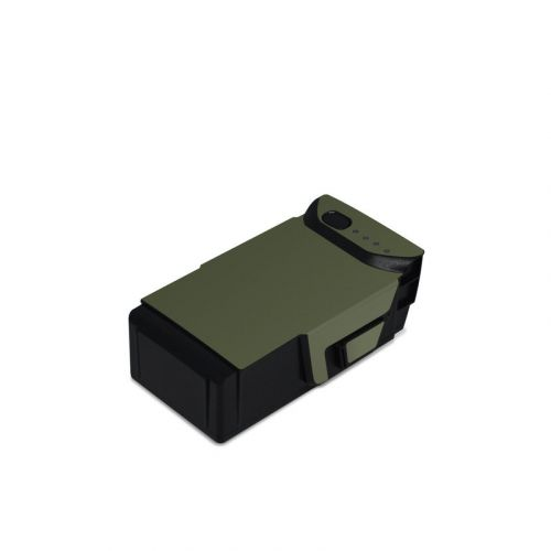 Solid State Olive Drab DJI Mavic Air Battery Skin