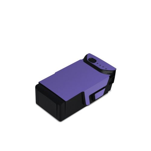 Solid State Purple DJI Mavic Air Battery Skin