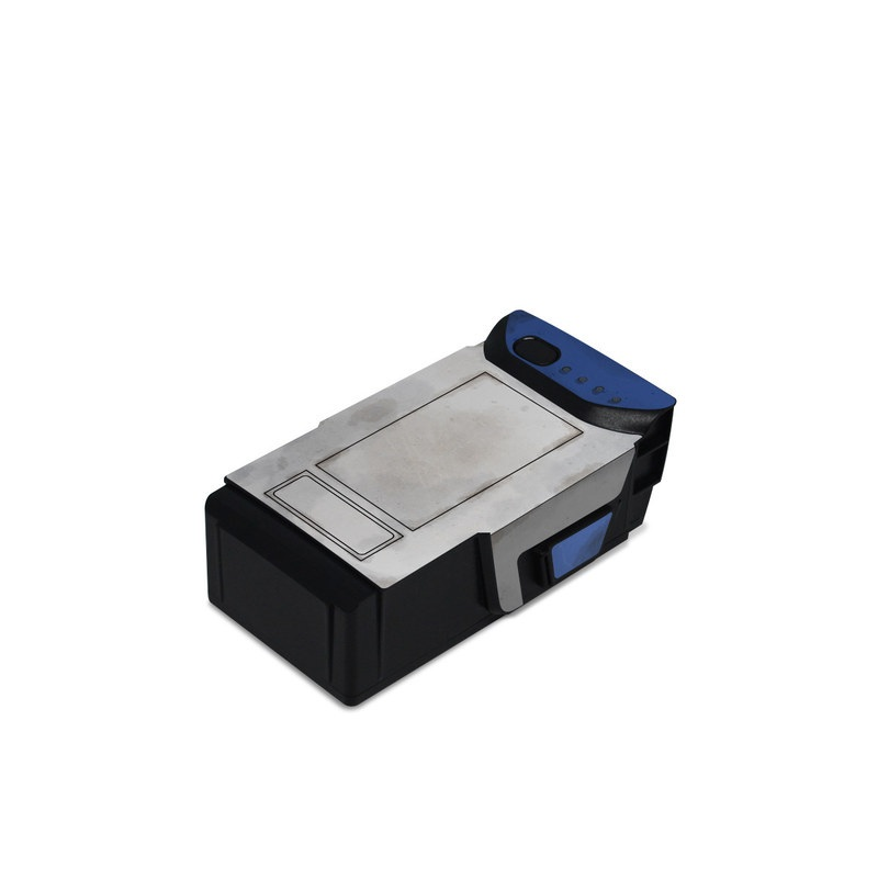DJI Mavic Air Battery Skin design with blue, gray, green, red colors