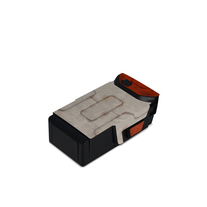 DJI Mavic Air Battery Skin design with red, gray colors