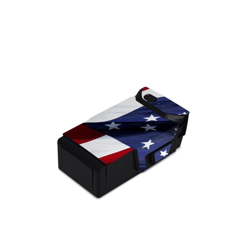 Patriotic DJI Mavic Air Battery Skin