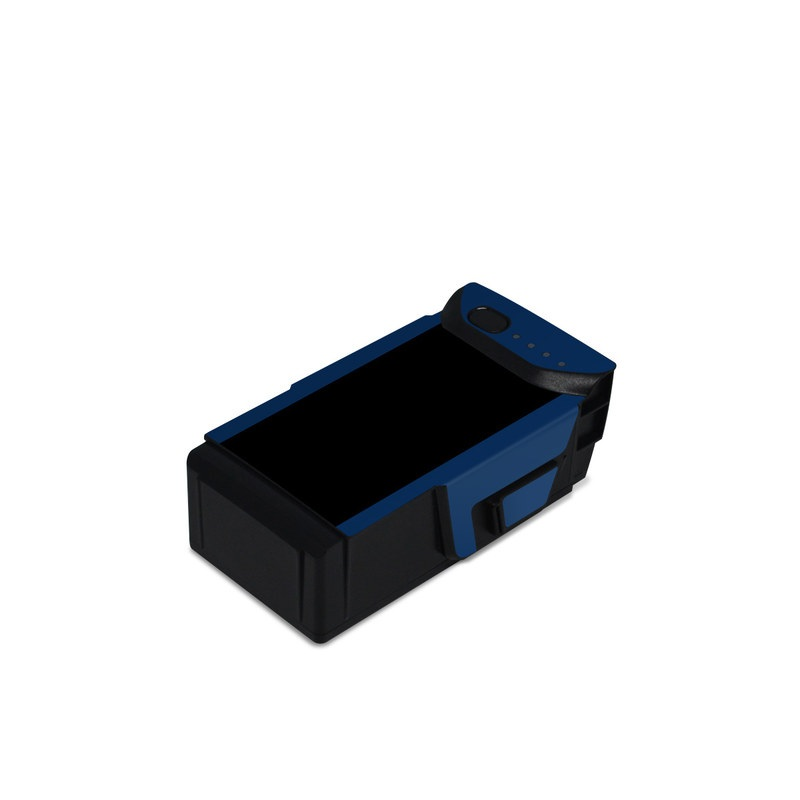 DJI Mavic Air Battery Skin design with black, white, blue, red colors