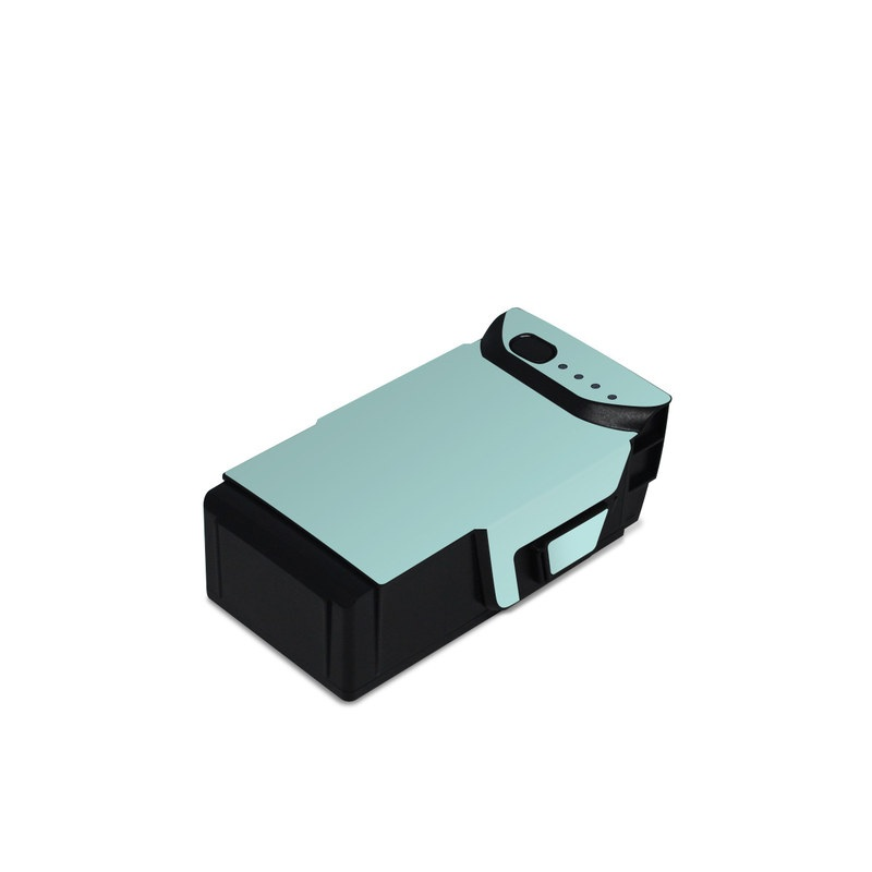 DJI Mavic Air Battery Skin design of Green, Blue, Aqua, Turquoise, Teal, Azure, Text, Daytime, Yellow, Sky with blue colors