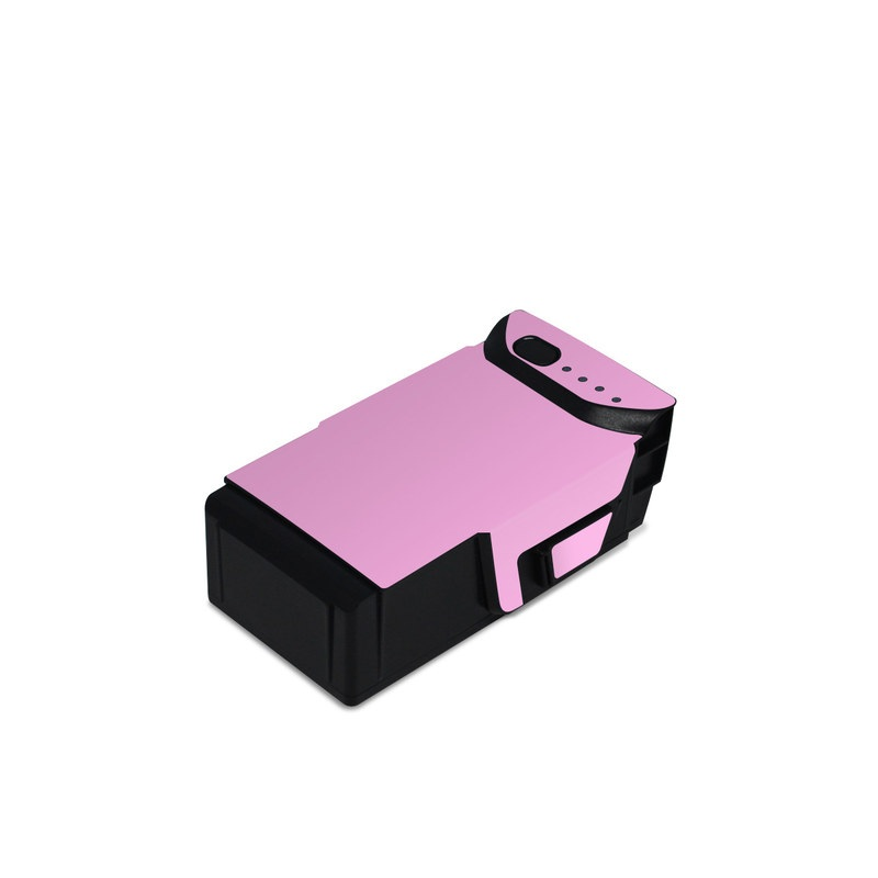 DJI Mavic Air Battery Skin design of Pink, Violet, Purple, Red, Magenta, Lilac, Sky, Material property, Peach with pink colors
