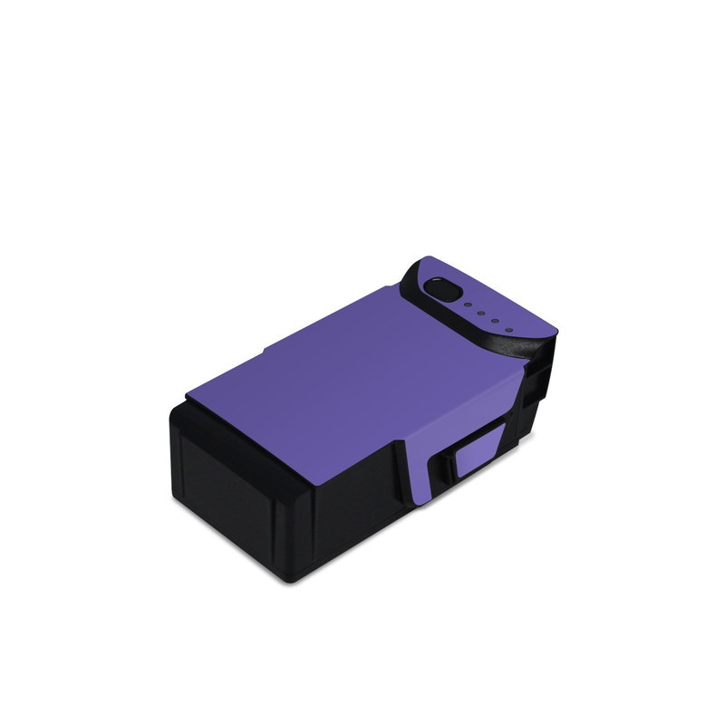 DJI Mavic Air Battery Skin design of Blue, Violet, Sky, Purple, Daytime, Black, Lilac, Cobalt blue, Pink, Azure with purple colors