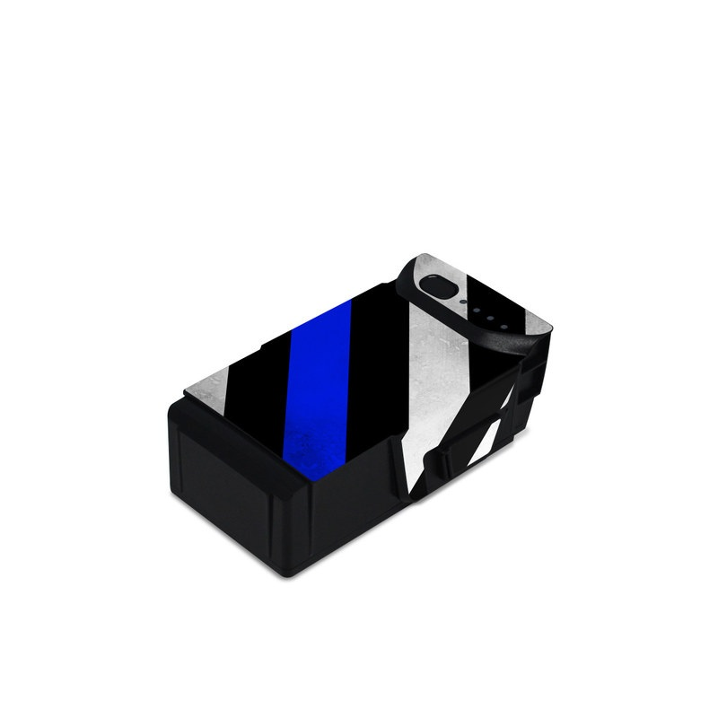 DJI Mavic Air Battery Skin design of Flag of the united states, Flag, Cobalt blue, Pattern, Line, Black-and-white, Design, Monochrome, Electric blue, Parallel with black, white, gray, blue colors