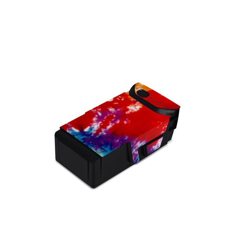 Tie Dyed DJI Mavic Air Battery Skin