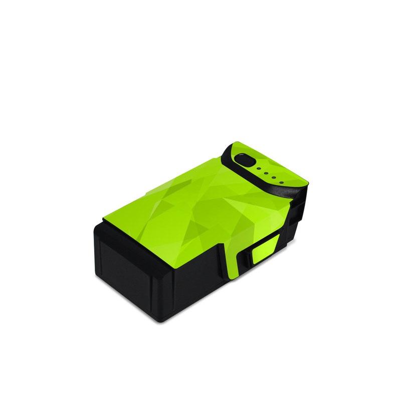 DJI Mavic Air Battery Skin design with green colors