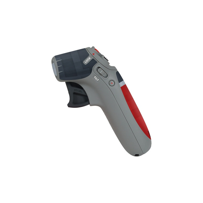 DJI Motion Controller Skin design with black, red, gray colors
