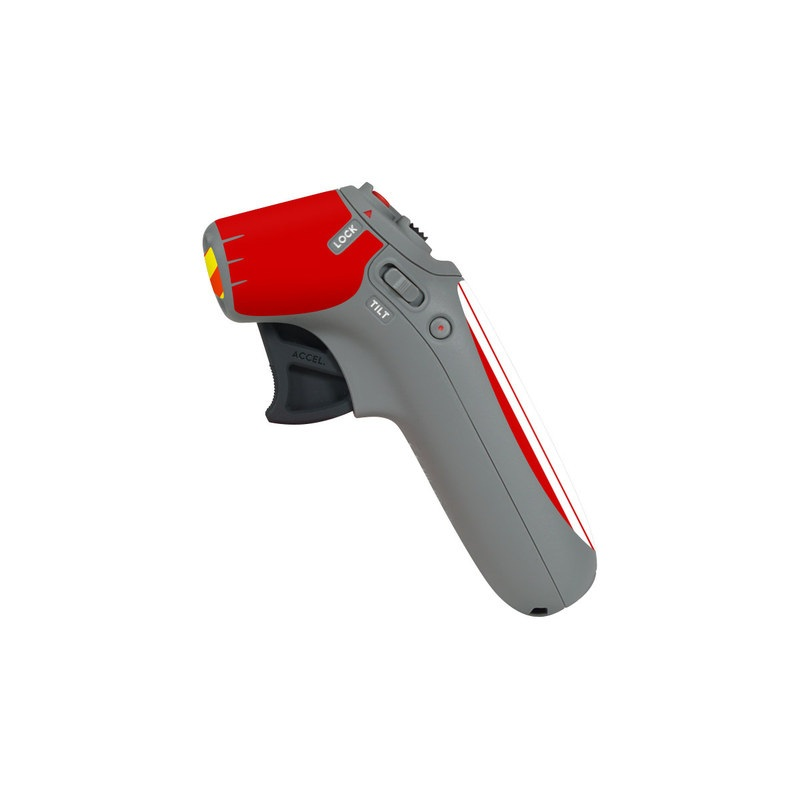 DJI Motion Controller Skin design of Military rank, Flag with white, red, yellow colors
