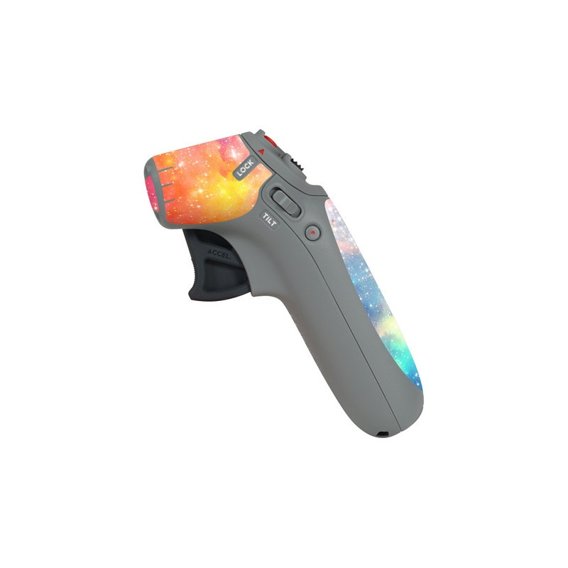DJI Motion Controller Skin design of Nebula, Sky, Astronomical object, Outer space, Atmosphere, Universe, Space, Galaxy, Celestial event, Star with white, black, red, orange, yellow, blue colors