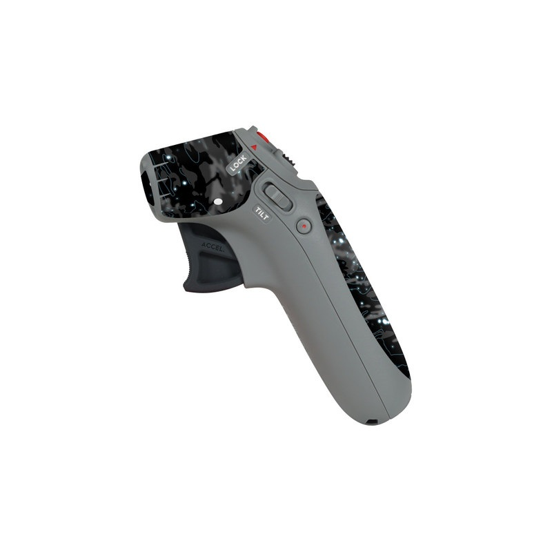 DJI Motion Controller Skin design of Black, Water, Space, Black-and-white, Granite with blue, white, gray, blue colors