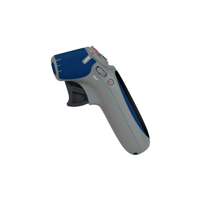 DJI Motion Controller Skin design with black, white, blue, red colors