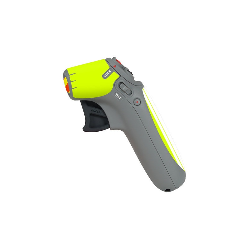 DJI Motion Controller Skin design of Yellow, Line, Font, Military rank with white, green, red, yellow colors