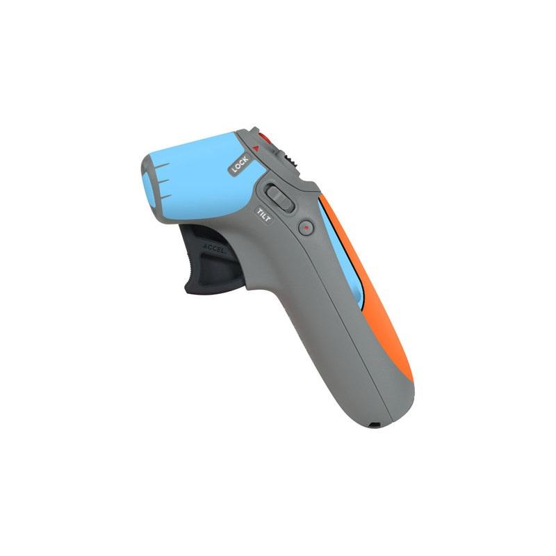 DJI Motion Controller Skin design of Line with blue, orange, black colors