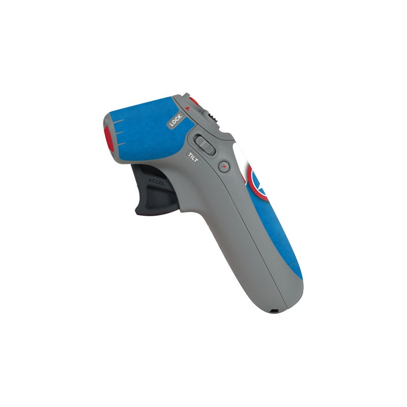 DJI Motion Controller Skin design with white, blue, red colors