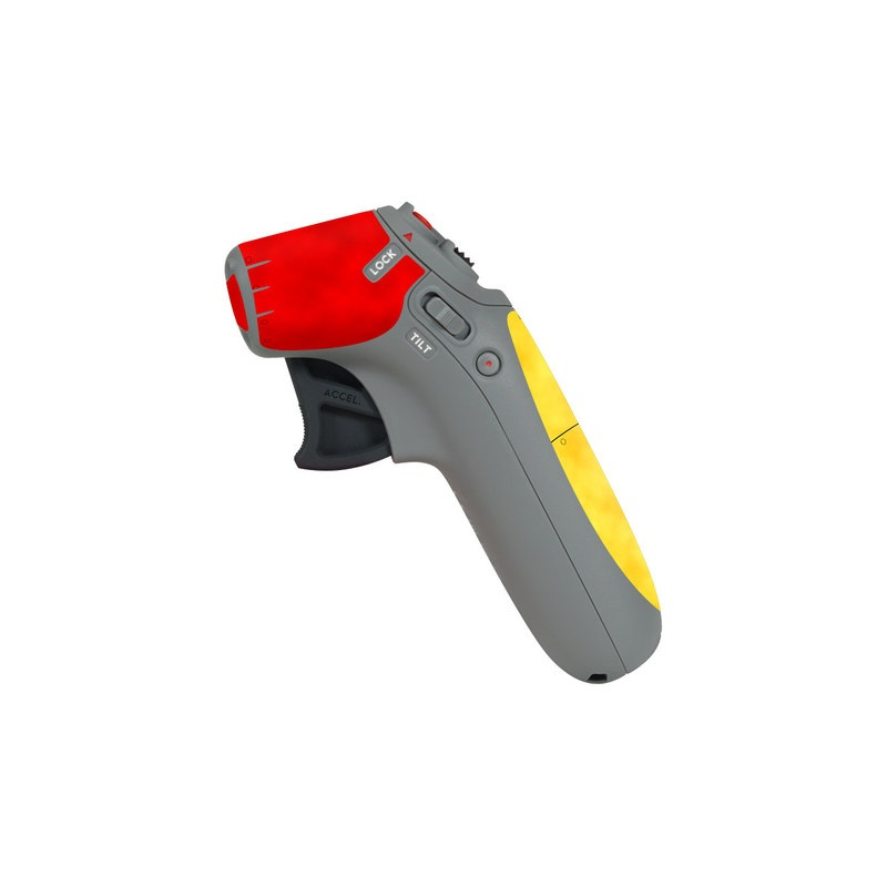 DJI Motion Controller Skin design with red, yellow, black colors