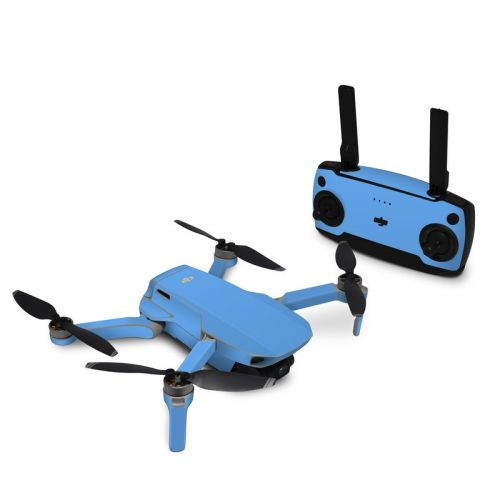 Solid State Blue DJI Mavic Mini Skin