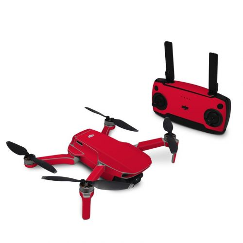Solid State Red DJI Mavic Mini Skin