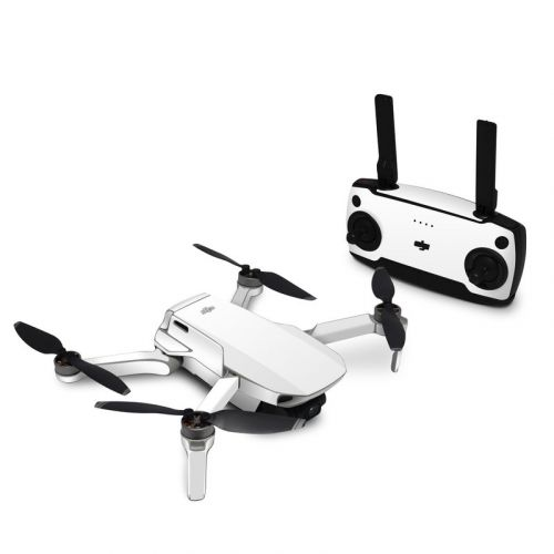 Solid State White DJI Mavic Mini Skin