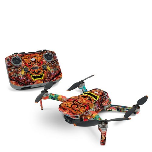 Asian Crest DJI Mavic Mini 2 Skin
