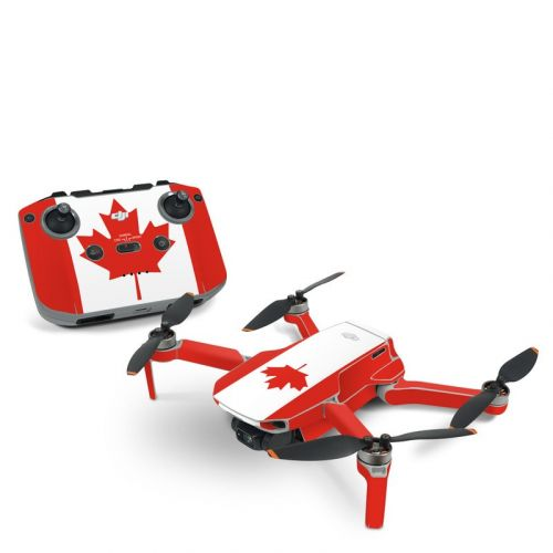 Canadian Flag DJI Mini 2 Skin