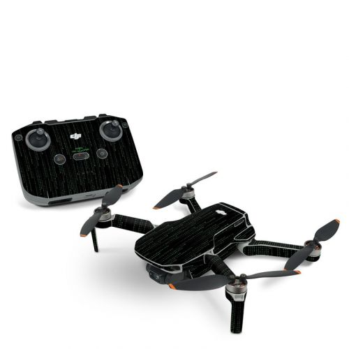 Matrix Style Code DJI Mini 2 Skin