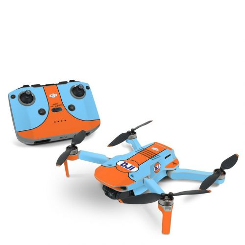 Retro Racer DJI Mini 2 Skin