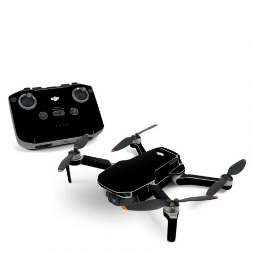 Solid State Black DJI Mavic Mini 2 Skin