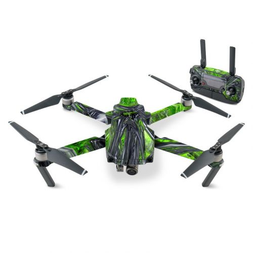 Emerald Abstract DJI Mavic Pro Skin