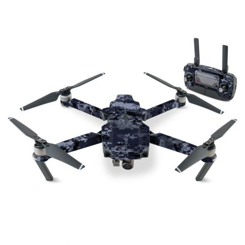 Digital Navy Camo DJI Mavic Pro Skin
