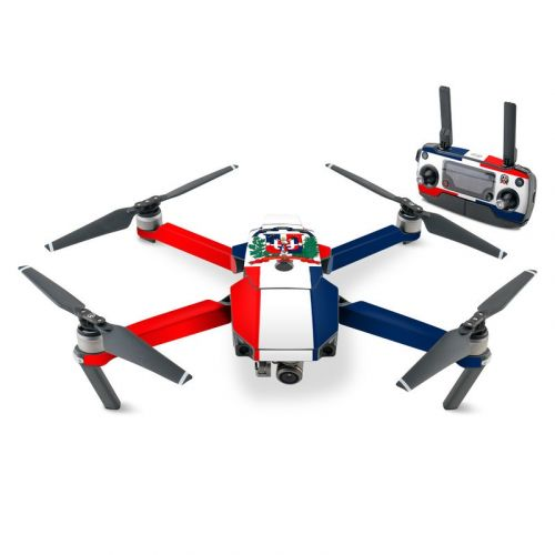 Dominican Republic Flag DJI Mavic Pro Skin