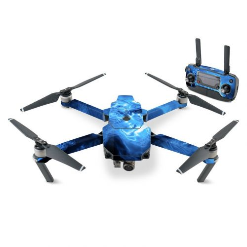 Blue Quantum Waves DJI Mavic Pro Skin