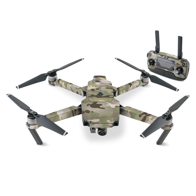DJI Mavic Pro Skin design of Military camouflage, Camouflage, Pattern, Clothing, Uniform, Design, Military uniform, Bed sheet with gray, green, black, red colors