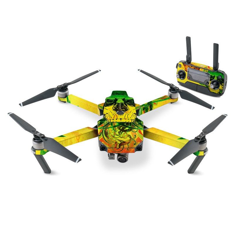 Hot Tribal Skull DJI Mavic Pro Skin