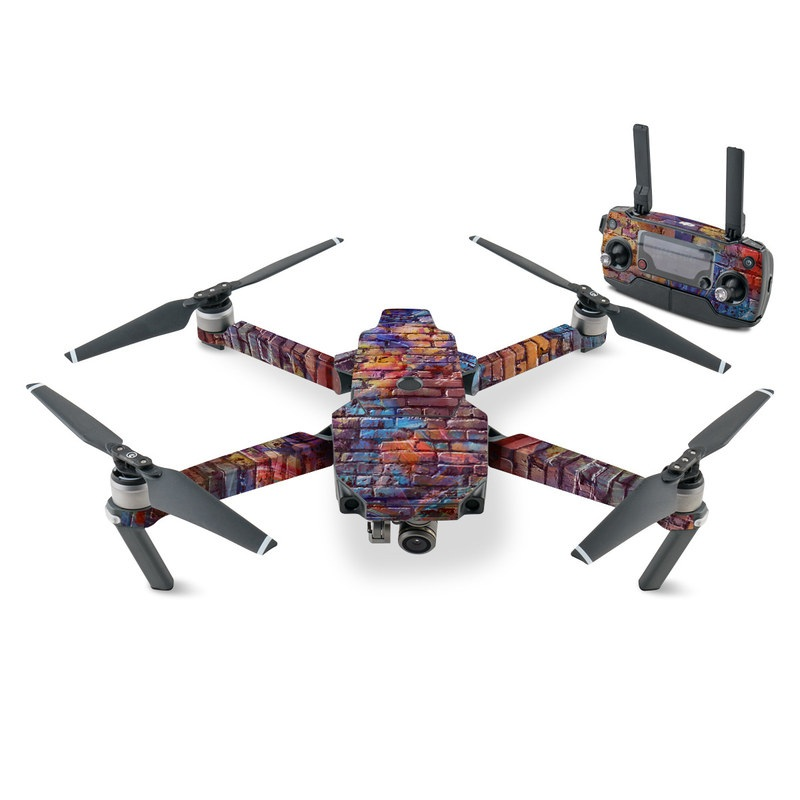 Painted Brick DJI Mavic Pro Skin