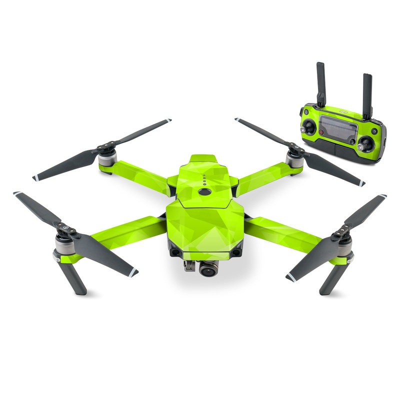 DJI Mavic Pro Skin design with green colors