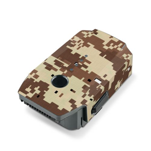 Digital Desert Camo DJI Mavic Pro Battery Skin