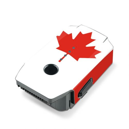Canadian Flag DJI Mavic Pro Battery Skin